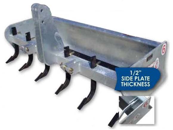 modern ag Box Blade ripper teeth nm tractor implement
